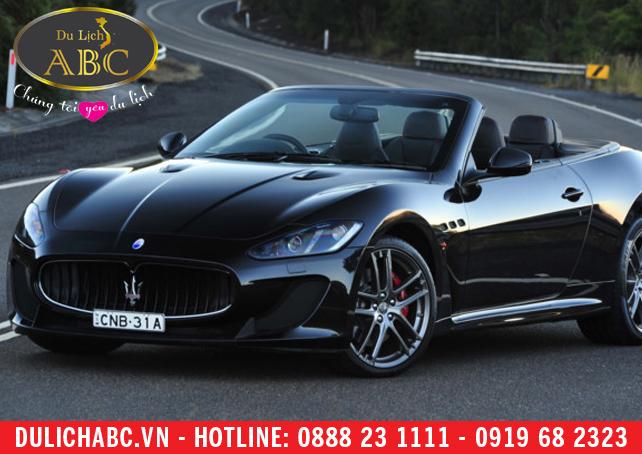Cho thuê xe Maserati GranCabrio Sport