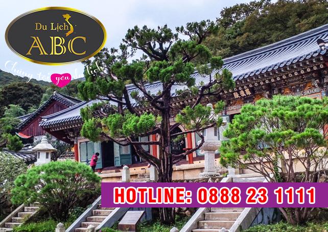 Du Lịch Hàn Quốc -Tham quan ngôi chùa cổ kính Beomeosa hơn 1.300 năm lịch sử