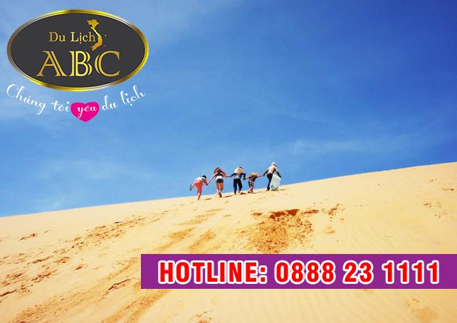 Du lịch Quy Nhơn - Phú Yên - Đồi cát Phương Mai