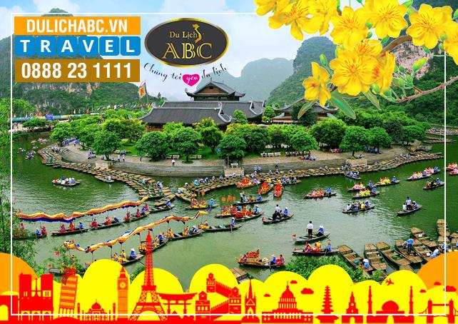 TOUR HÀ NỘI - NINH BÌNH (Tam Cốc, Chùa Bái Đính) - HẠ LONG - YÊN TỬ TẾT 2021
