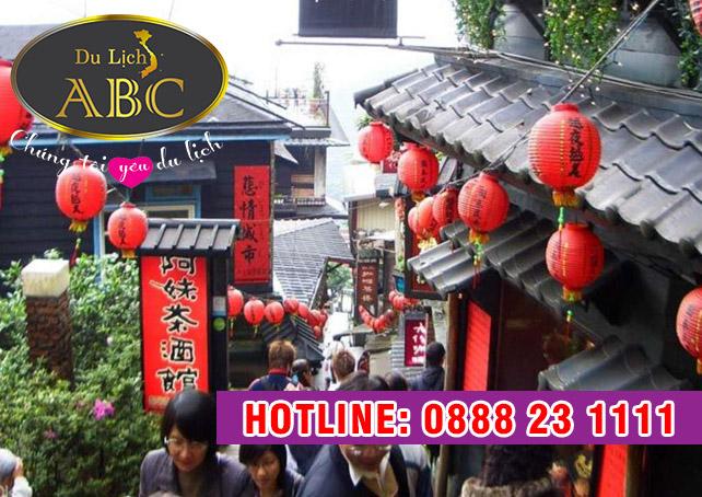 Du Lịch Đài Loan - Làng cổ Jiufen vùng đất 'cổ tích' của du lịch Đài Loan