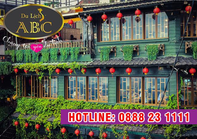 Du Lịch Đài Loan - Jiufen – Phố cổ Cửu Phần hay thiên đường ẩm thực ở Đài Bắc