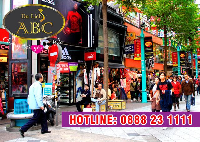 Du Lịch Đài Loan - Chợ đêm Ximending có gì đặc biệt
