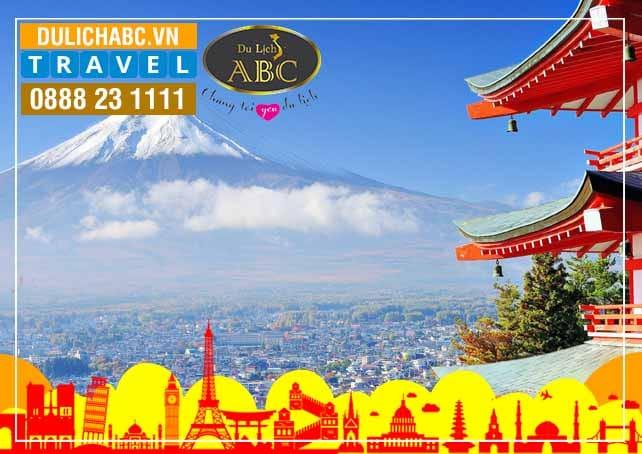 Du lịch Nhật Bản: TOKYO - VỊNH ODAIBA - NÚI PHÚ SỸ - HAKONE