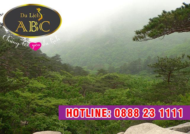 Du Lịch Hàn Quốc - Đỉnh Khủng Long, Núi Seorak