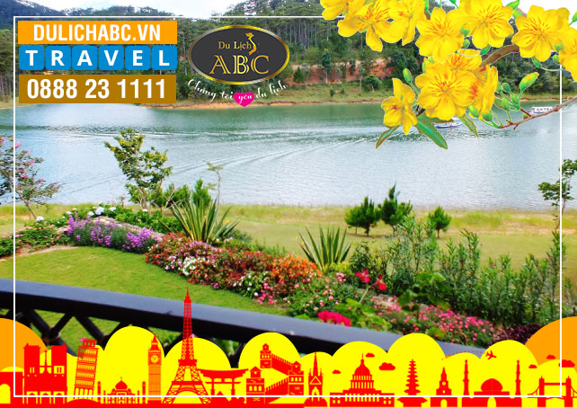 Tour Du lịch Đà lạt Khách Lẻ Festival Hoa 2019