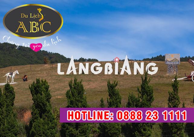 Du Lịch Đà Lạt - Núi LangBiang