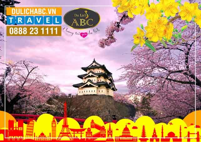 Tour Du lịch Nhật Bản Tết 2019