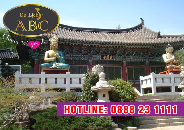Du Lịch Hàn Quốc - Khám phá ngôi chùa cổ Beomeosa 1300 tuổi ở Hàn Quốc