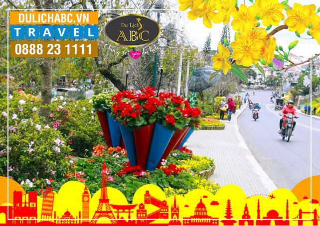 Du lịch Đà Lạt Festival Hoa 2021 (3 ngày 2 Đêm)