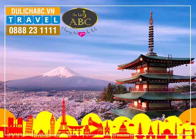 Du Lịch Nhật Bản: TOKYO - NÚI PHÚ SĨ - OSAKA - KYOTO