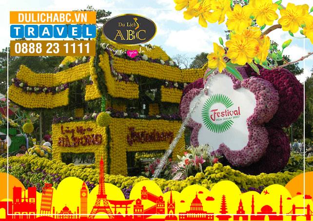 Tour Du lịch Đà Lạt Festival Hoa 2021