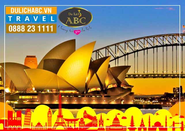 Du Lịch Úc: MELBOURNE - WOLLONGONG - SYDNEY