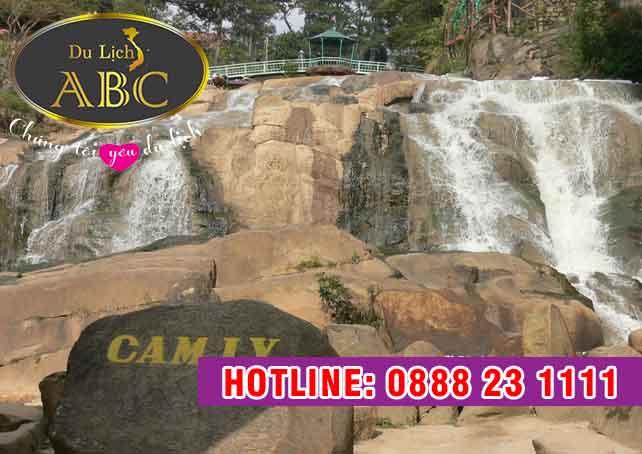 Du Lịch Hè 2018 – Du Lịch Ngắm nhìn vẻ đẹp dịu dàng của thác Cam Ly