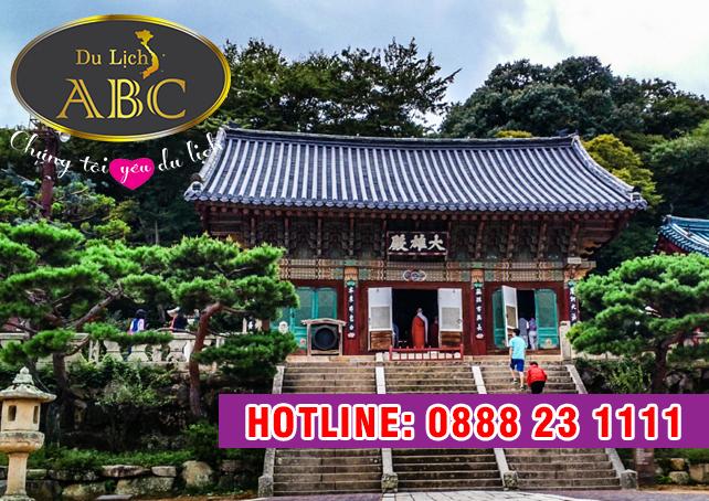 Du Lịch Hàn Quốc - Chiêm ngưỡng ngôi chùa 1.300 tuổi ở Hàn Quốc