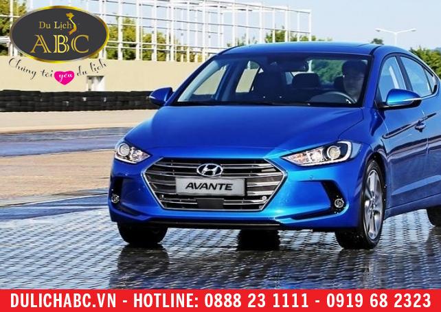 Cho thuê xe Hyundai Elantra 2017