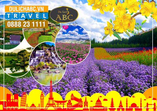 Tour Du lịch Đà lạt 3 Ngày 2 Đêm Tết Âm lịch 2019