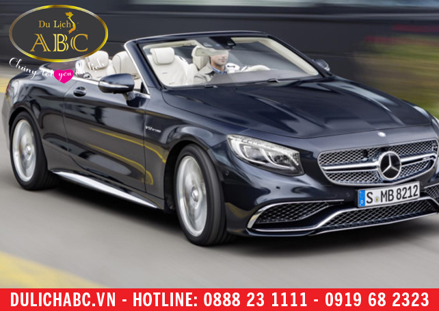 Cho thuê xe Mercedes S65 AMG Cabriolet
