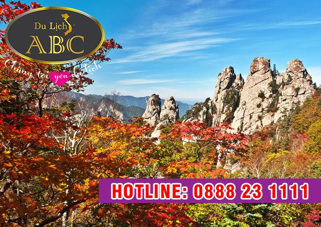 Du Lịch Hàn Quốc - Cảnh sắc mùa thu ở núi Seorak, Hàn Quốc đẹp ngỡ ngàng
