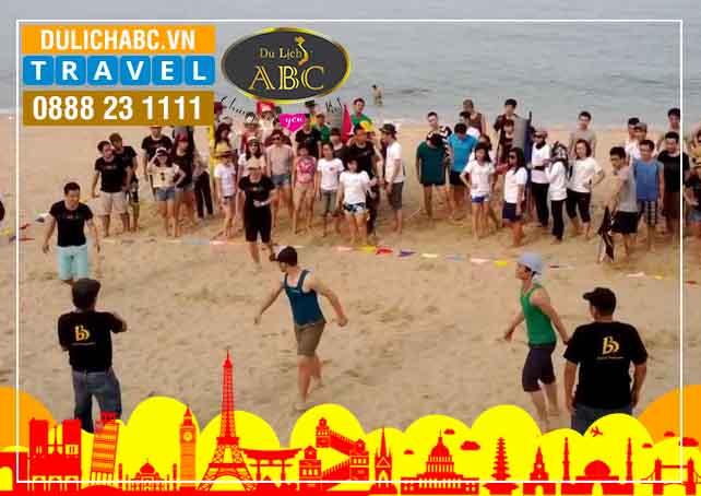 Teambuilding trên bãi biển