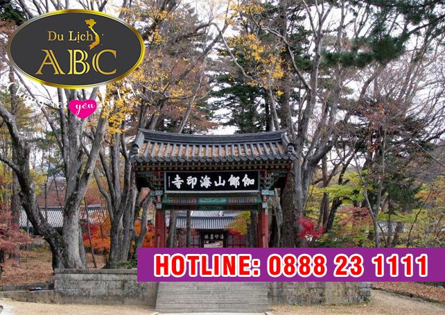 Du Lịch Hàn Quốc - Vẻ đẹp cổ kính của ngôi chùa cổ Beomeosa ở Busan