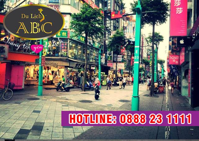 Du Lịch Đài Loan - Khám phá chợ đêm Ximending