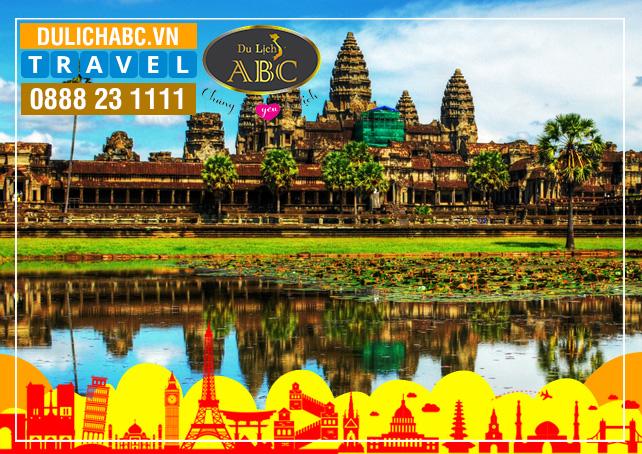 Du Lịch Siemreap - Phnompenh