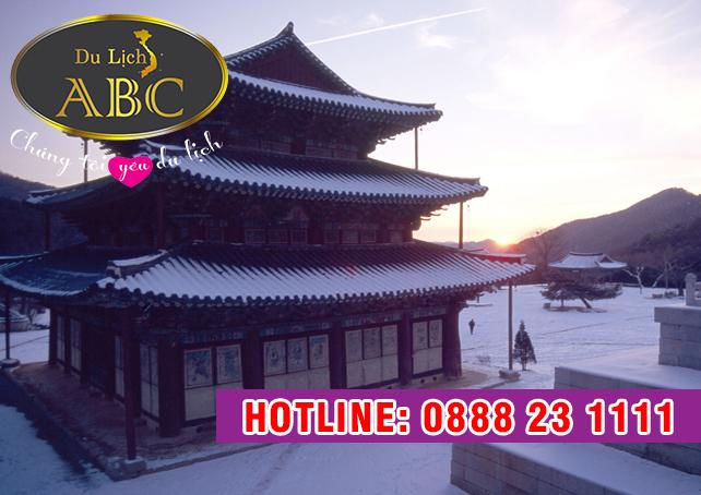 Du Lịch Hàn Quốc - Beomeosa – Ngôi chùa 1300 năm tuổi ở Hàn Quốc