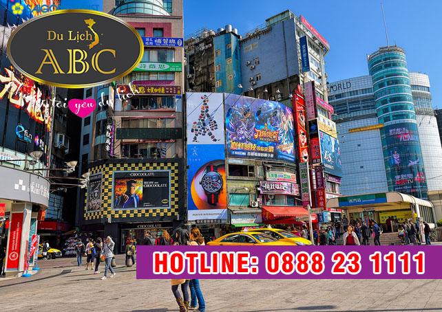 Du Lịch Đài Loan - Chợ đêm Ximending hút hồn khách du lịch tại Đài Bắc