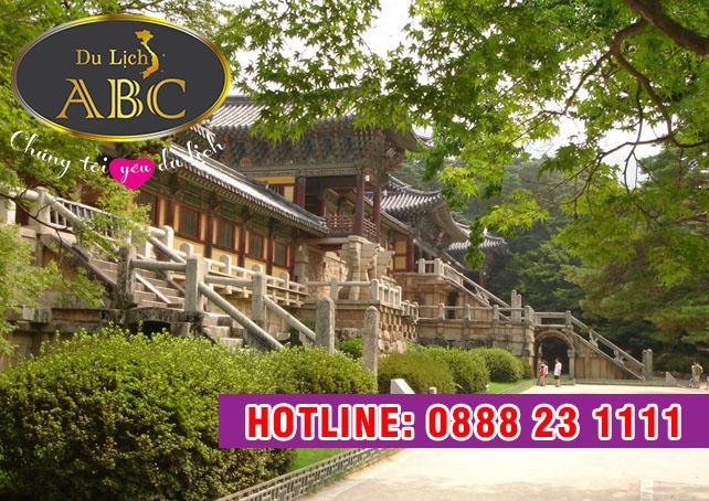 Du Lịch Hàn Quốc - Tham quan ngôi chùa cổ kính Haeinsa ở Hàn Quốc