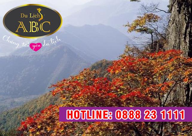 Du Lịch Hàn Quốc - Vãn cảnh mùa thu ở núi Seorak - một kỳ quan của Hàn Quốc