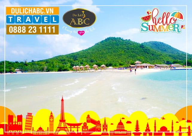 Tour Nha Trang - Đảo Điệp Sơn Hè 2021