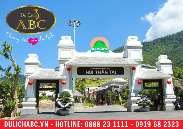 Cẩm Nang Du Lịch Đà Nẵng Công viên suối khoáng nóng Núi Thần Tài