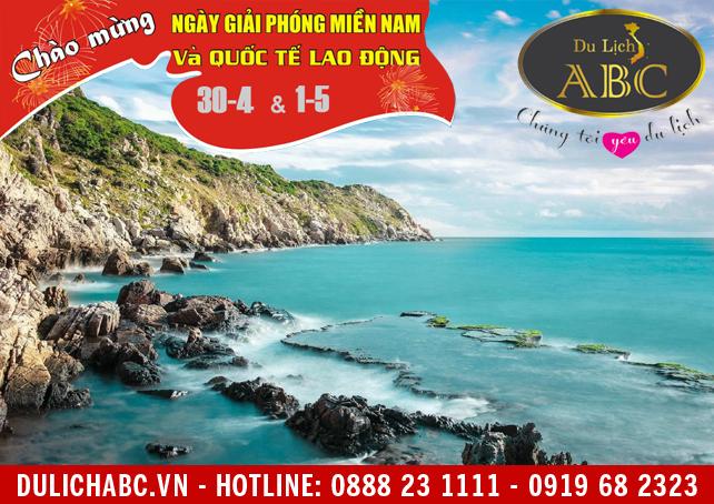 Du Lịch Ninh Chữ - Hang Rái - Vĩnh Hy - Cổ Thạch 30/4/2018