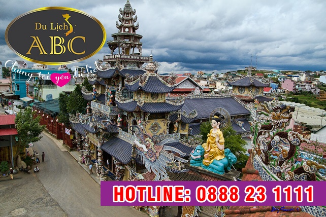 Du lịch hè 2020 - Du Lịch Đà Lạt Chùa Linh Phước