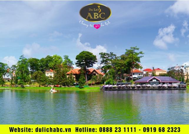 Cảnh đẹp Hồ Xuân Hương Đà Lạt, cảm giác êm đềm đầy lãng mạn
