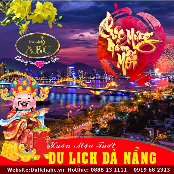 Du Lịch Tết 2018: Đà Nẵng - Hội An - Bà Nà - Sơn Trà