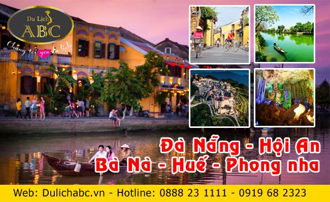 Du Lịch Đà Nẵng - Hội An - Bà Nà - Huế - Phong Nha