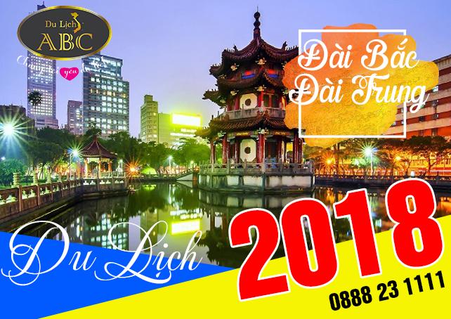 Du lịch Đài Bắc - Đài Trung - Cao Hùng 6 Ngày 5 Đêm