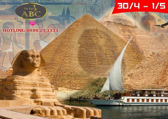 Du lịch Ai Cập lễ 30/4 và 1/5/2020