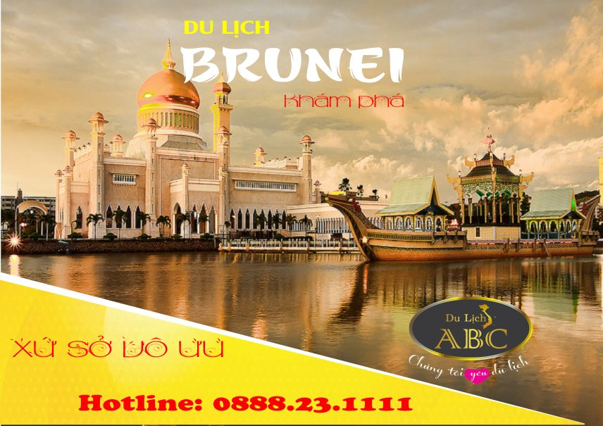 Tour Du lịch Brunei