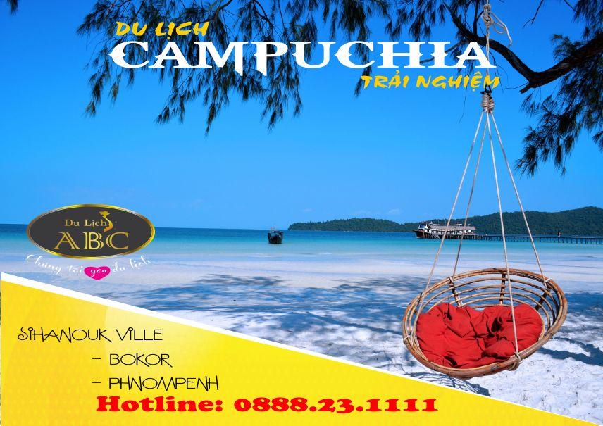 Tour Du lịch Campuchia: SIHANOUK VILLE - BOKOR - PHNOMPENH
