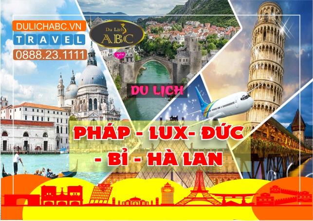 Du lịch Châu Âu: Pháp - Lux - Đức - Bỉ - Hà Lan