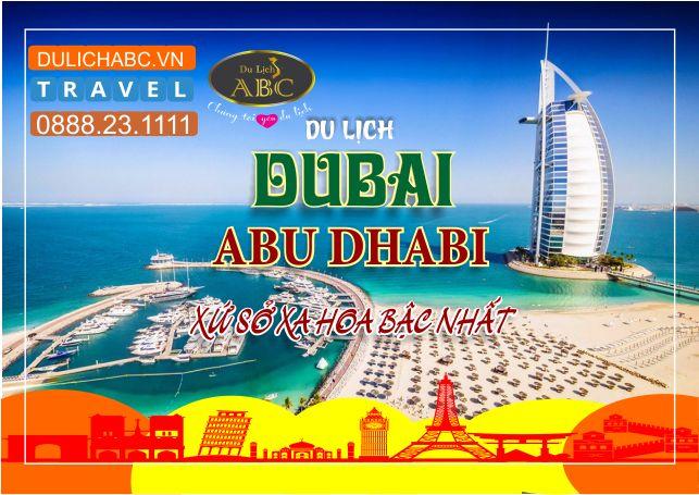 Du lịch Dubai - Adu Dhabi 5 Ngày 4 Đêm Giá Chỉ: 19.999.000đ