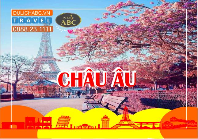 Du lịch Châu Âu 5 Nước: Pháp - Luxembourg - Đức - Bỉ - Hà Lan Mùa Hoa Anh Đào 2021