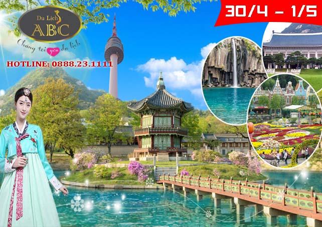 Du lịch Hàn Quốc Lễ 30/4 và 1/5/2020