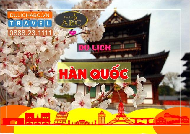Du lịch Hàn Quốc Mùa Hoa Anh Đào 2020