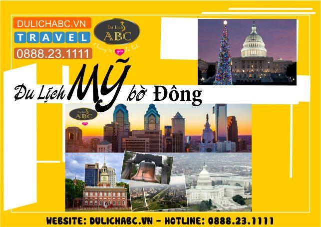 Du lịch Mỹ - Bờ Đông Hoa Kỳ 6 Ngày 5 Đêm