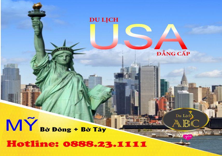 Tour Du lịch Mỹ - Liên Tuyến Đông Tây Hoa Kỳ