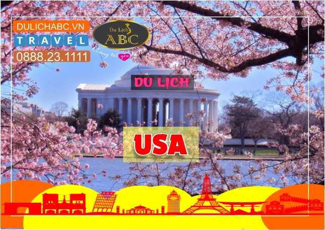 Du lịch Mỹ Mùa Hoa Anh Đào 2021